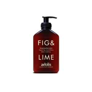 aeolis fig and lime body lotion
