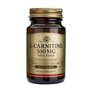 solgar l-carnitine 500mg 30s