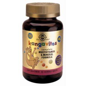 solgar kangavites multivitamin & mineral formula