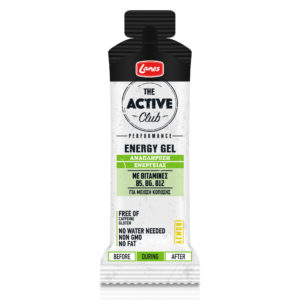 lanes active club energy gel