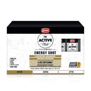 lanes active club energy shot 10x50