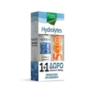 power health hydrolytes 1+1 vitamin C