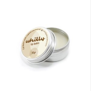 wholly lip balm coconut oil