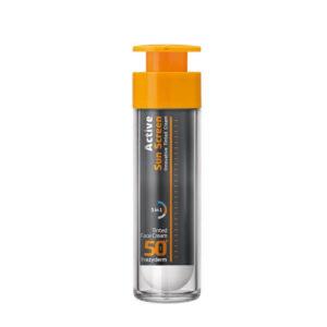 Frezyderm-Active-Sun-Screen-Innovative-Black-Tinted-Face-Cream-SPF50-50ml
