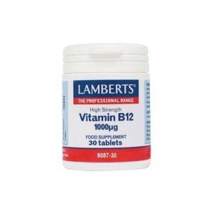 lamberts vitamin b12 30tabs