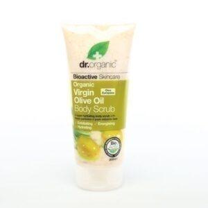 dr organic olive oil body scrub