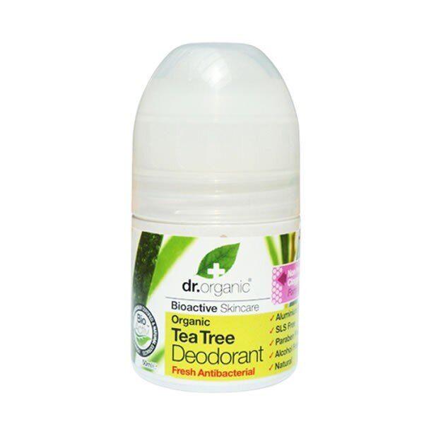 dr organic tea tree roll on